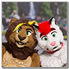 Eurofurence 2014 fursuit photoshoot. Preview picture of Kimu, Nbowa