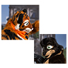Eurofurence 2014 fursuit photoshoot. Preview picture of Cassius, Lopoka