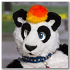 Eurofurence 2014 fursuit photoshoot. Preview picture of Freddypanda, Weremoco