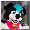 Eurofurence 2014 fursuit photoshoot. Preview picture of Snowball