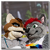 Eurofurence 2014 fursuit photoshoot. Preview picture of Ray, Burcis