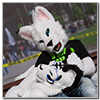 Eurofurence 2014 fursuit photoshoot. Preview picture of EarthY, Whitey Lynx