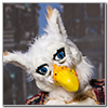 Eurofurence 2014 fursuit photoshoot. Preview picture of Art-Gryphon