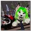 Eurofurence 2014 fursuit photoshoot. Preview picture of Jail, Sarahlynx
