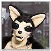 Eurofurence 2014 fursuit photoshoot. Preview picture of Cheenook Wolfskin, Ryn