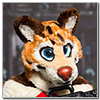 Eurofurence 2014 fursuit photoshoot. Preview picture of Ryn