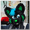 Eurofurence 2014 fursuit photoshoot. Preview picture of Kibawo