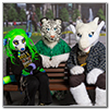 Eurofurence 2014 fursuit photoshoot. Preview picture of Seti, Niuxii, Marcan