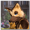 Eurofurence 2014 fursuit photoshoot. Preview picture of Angie