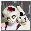 Eurofurence 2014 fursuit photoshoot. Preview picture of Diamond, Leila