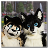 Eurofurence 2014 fursuit photoshoot. Preview picture of Cuja, Tristan