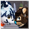 Eurofurence 2014 fursuit photoshoot. Preview picture of Ikko, Nox