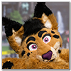 Eurofurence 2014 fursuit photoshoot. Preview picture of Lysander