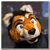 Eurofurence 2014 fursuit photoshoot. Preview picture of Aleeke