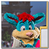 Eurofurence 2014 fursuit photoshoot. Preview picture of Speckle Roo