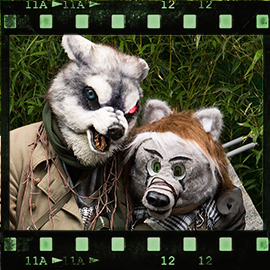 Eurofurence 2015 fursuit photoshoot. Preview picture of Boardmaker, Masi-Anuk