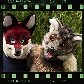 Eurofurence 2015 fursuit photoshoot. Preview picture of Christian, FlurryFlecky