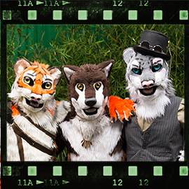 Eurofurence 2015 fursuit photoshoot. Preview picture of Jack Swift, Paktani, Jin
