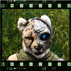 Eurofurence 2015 fursuit photoshoot. Preview picture of D R I A S