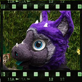 Eurofurence 2015 fursuit photoshoot. Preview picture of Gumdrop