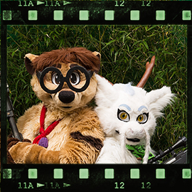 Eurofurence 2015 fursuit photoshoot. Preview picture of Thabo, Rin