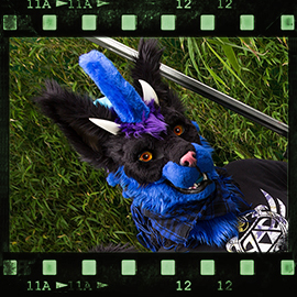 Eurofurence 2015 fursuit photoshoot. Preview picture of DevilKaito
