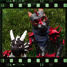 Eurofurence 2015 fursuit photoshoot. Preview picture of Anrhok, Ataru
