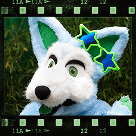 Eurofurence 2015 fursuit photoshoot. Preview picture of Blinky