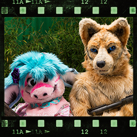 Eurofurence 2015 fursuit photoshoot. Preview picture of Kimo, Tianshii