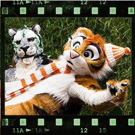 Eurofurence 2015 fursuit photoshoot. Preview picture of DeepDragon, Lee Taiger