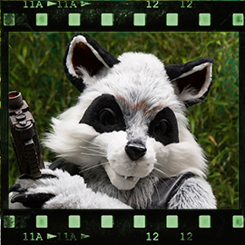 Eurofurence 2015 fursuit photoshoot. Preview picture of Joleii