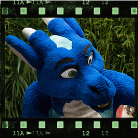 Eurofurence 2015 fursuit photoshoot. Preview picture of Azur