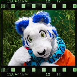 Eurofurence 2015 fursuit photoshoot. Preview picture of Challenger