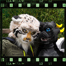 Eurofurence 2015 fursuit photoshoot. Preview picture of Runo, Saracleth