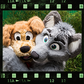 Eurofurence 2015 fursuit photoshoot. Preview picture of JD Puppy, Dantee