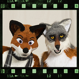 Eurofurence 2016 fursuit photoshoot. Preview picture of Keezy, KemonoWolf