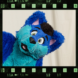 Eurofurence 2016 fursuit photoshoot. Preview picture of Geo