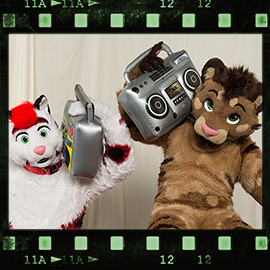 Eurofurence 2016 fursuit photoshoot. Preview picture of Kimu, Jason