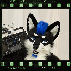 Eurofurence 2016 fursuit photoshoot. Preview picture of Fang