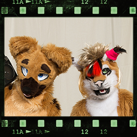 Eurofurence 2016 fursuit photoshoot. Preview picture of Zephias, Cato