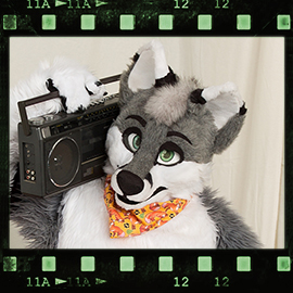 Eurofurence 2016 fursuit photoshoot. Preview picture of Hyro