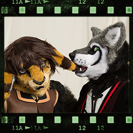 Eurofurence 2016 fursuit photoshoot. Preview picture of Natsu, Sachswolf