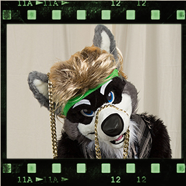 Eurofurence 2016 fursuit photoshoot. Preview picture of Jhin