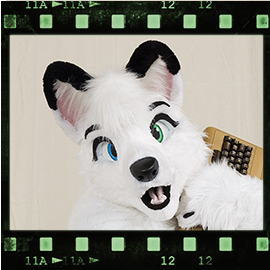 Eurofurence 2016 fursuit photoshoot. Preview picture of Ayla