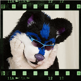 Eurofurence 2016 fursuit photoshoot. Preview picture of Menshi