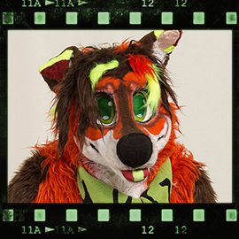 Eurofurence 2016 fursuit photoshoot. Preview picture of Hutz