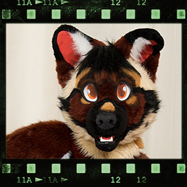 Eurofurence 2016 fursuit photoshoot. Preview picture of Roler