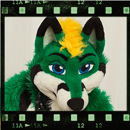 Eurofurence 2016 fursuit photoshoot. Preview picture of Kharos