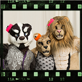 Eurofurence 2016 fursuit photoshoot. Preview picture of Buna, Tufani Lion, FERAL