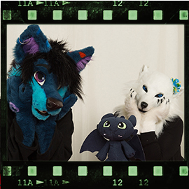 Eurofurence 2016 fursuit photoshoot. Preview picture of Aurora Xepter, DanzZ